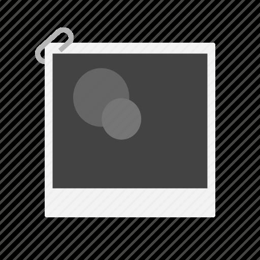 Board Frame Picture Polaroid Icon