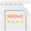 admit, event, movie, purchase, show, theater, ticket icon icon