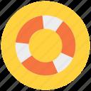 life, lifebuoy, lifeguard, safety, saver icon icon