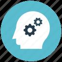brain, brainstorm, brainstorming, creative, mind, settings, thinking icon icon