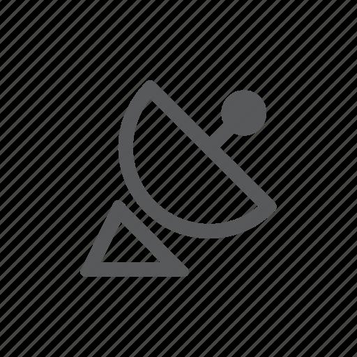 antenna, receiver, satellite, signal icon