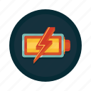 battery, charge, charging, electric, electricity, full, power icon