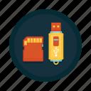 flashcard, memory, microsd, pendrive, sd, stick, storage icon