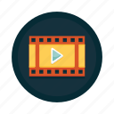 cinema, film, media, movie, play, production, video icon