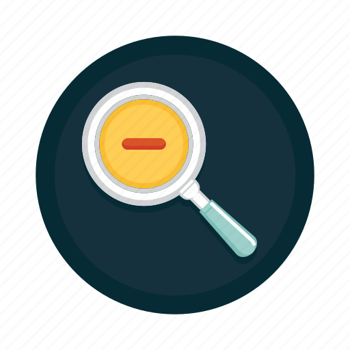 Out, zoom, glass, magnifier, magnifying, zoom out icon - Download on Iconfinder