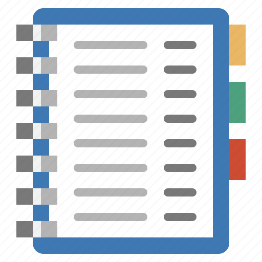 address, book, business, clients, contacts, customers, report icon