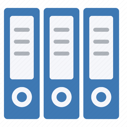 archive, archives, binders, business, storage icon