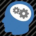 business, brain, gears, smart, intelligence