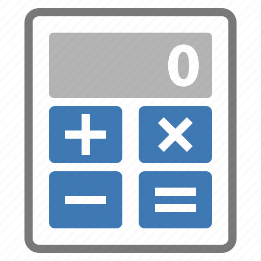 business, calculator, calculus, device, operations, professional, work icon