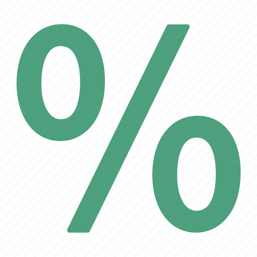 deal, discount, green, offer, percentage, sale icon