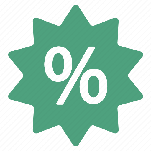 amazing, deal, discount, green, offer, percentage, sale icon