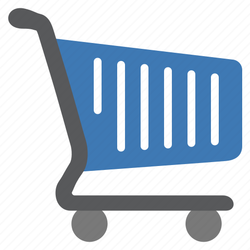 blue, buy, cart, items, products, shop, shopping icon
