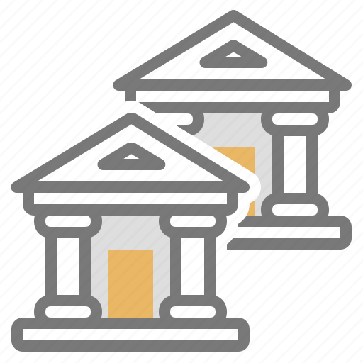 accounts, banks, choose, finance, institutions, money icon