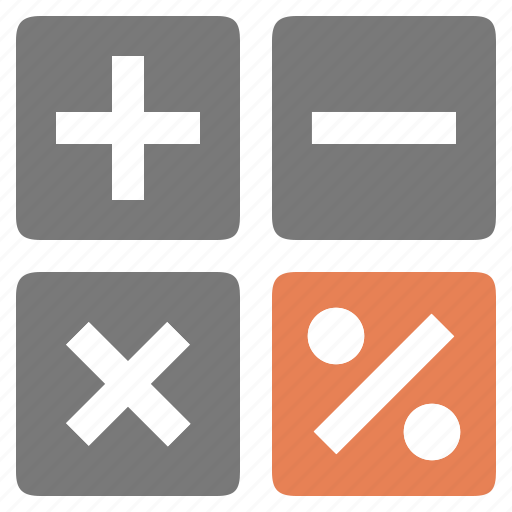 calculator, calculus, device, loan icon