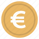 currency, euro, europe, logo, money icon