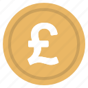 currency, logo, money, pound, united kingdom icon