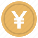 currency, japan, logo, money, yen icon