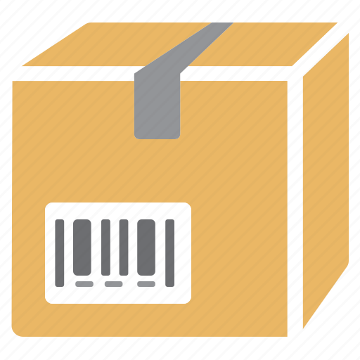 box, delivery, package, product, reference icon