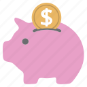piggy bank, pink, money, savings, piggy, coin, bank