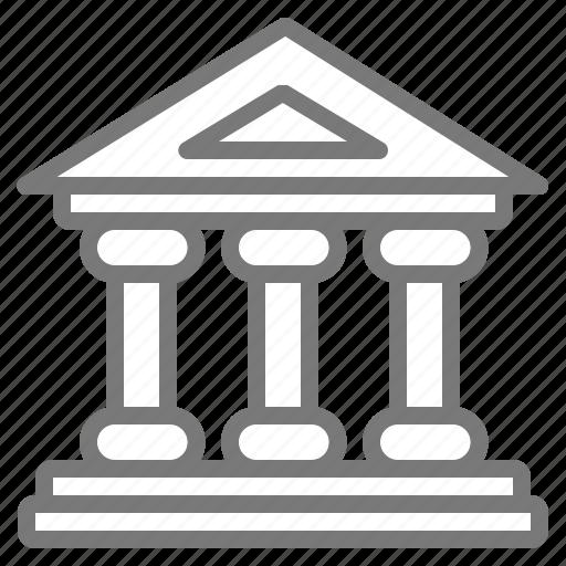 exchange, institution, stock icon