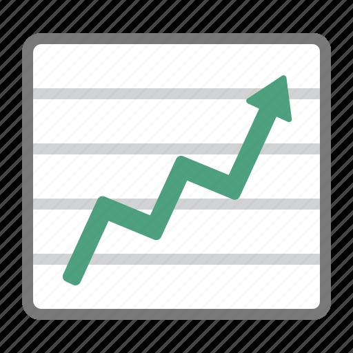 bullish, chart, evolution, graph, increase, sales icon