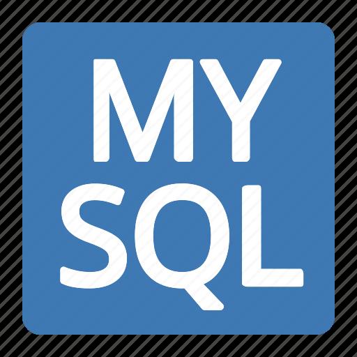 badge, language, mysql, query, structured icon
