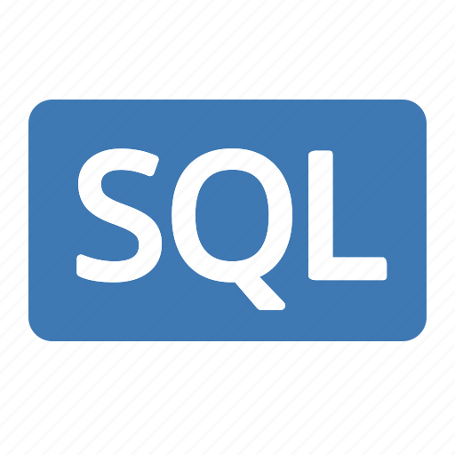 badge, language, query, sql, structured icon