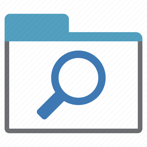 create, find, glass, magnifying, new, tab icon