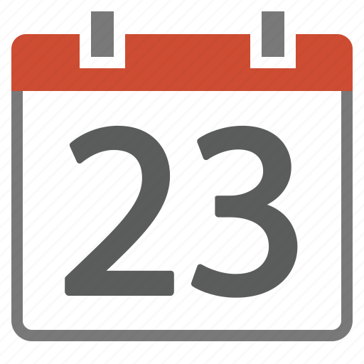 calendar, date, day, number, type icon