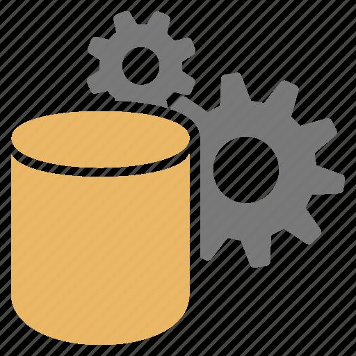 analyse, big, complex, compute, data, gears icon