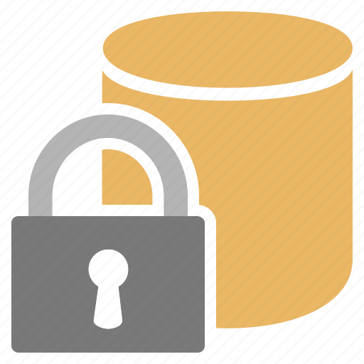 Database, lock, password, protect, protection, secure, security icon - Download on Iconfinder