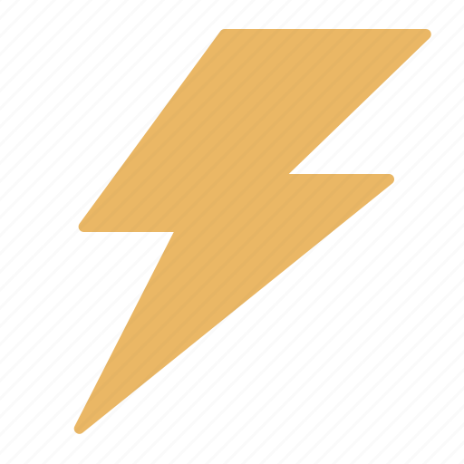 electric, electricity, energy, execute, power, storm, thunder icon