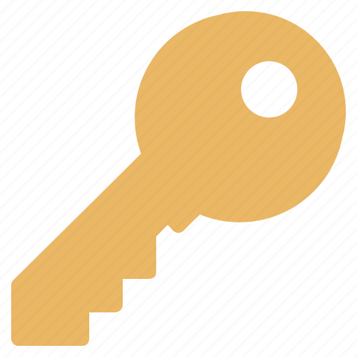 key, locked, protect, protection, safety, security, serial icon