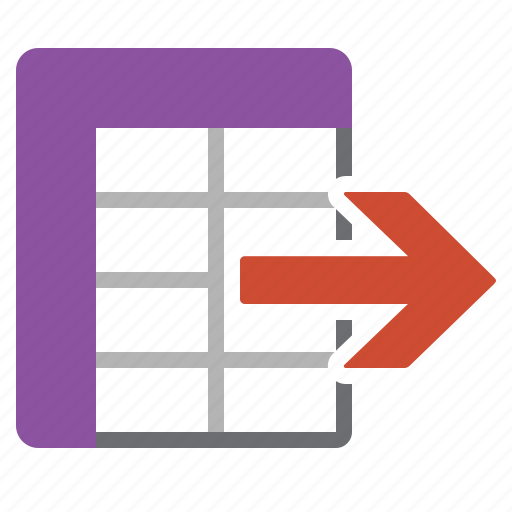 data, datasheet, export, information icon