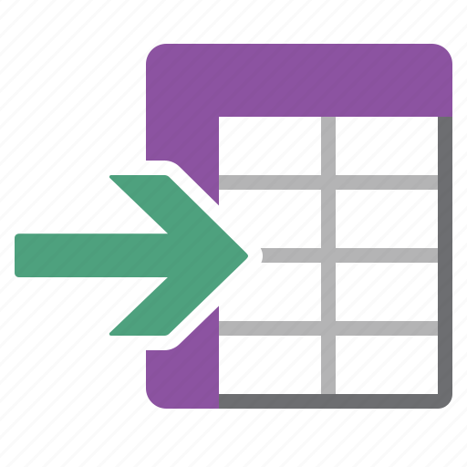 business, data, datasheet, document, import, information icon