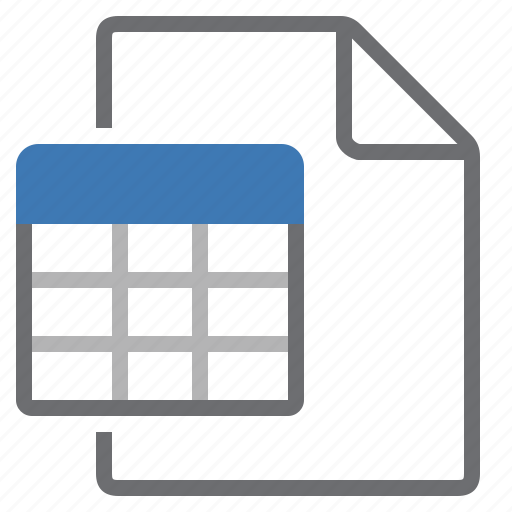 create, document, new, sheet, table icon