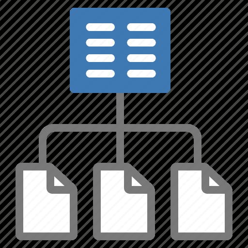 index, organization, structure icon