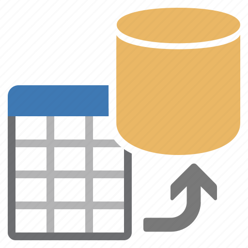 add, database, document, file, table icon