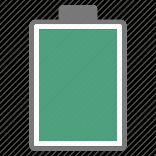 battery, full, hardware, hundred, network, percent icon