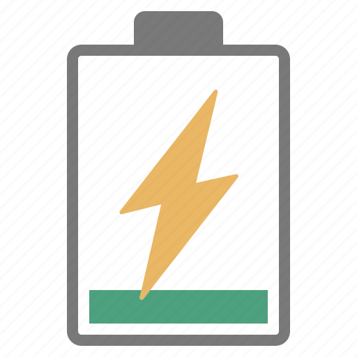 battery, charge, charging, hardware, network, one, tenth icon