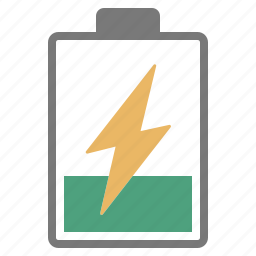 battery, charge, charging, hardware, network, one, quarter icon