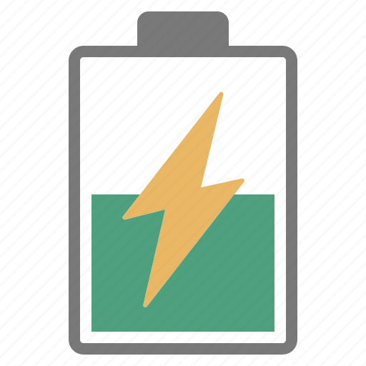 battery, charge, charging, hardware, medium, network, power icon