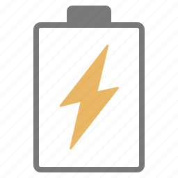 battery, charge, charging, empty, hardware, network icon