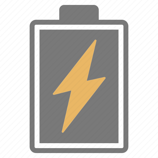 battery, charge, charging, full, grey, hardware, network icon