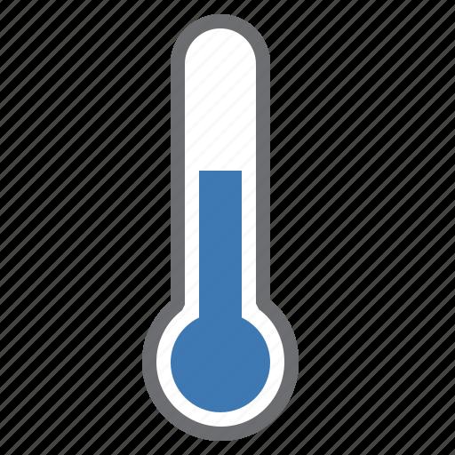 blue, hardware, heat, network, temperature, thermometer icon