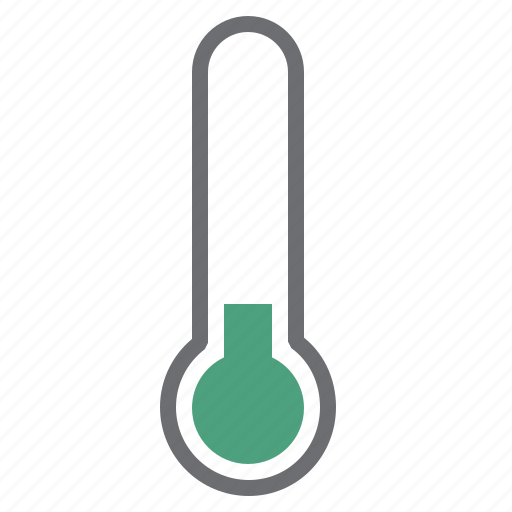 cold, green, hardware, low, network, temperature, thermometer icon