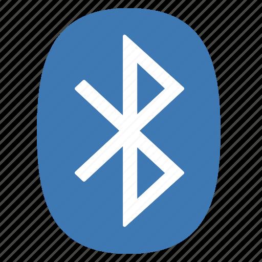 bluetooth, connection, hardware, network, symbols, technology icon
