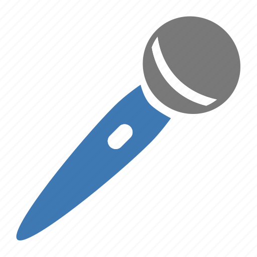 hardware, micro, microphone, network, speak icon