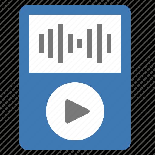 hardware, ipod, music, network, player, playlist, sound icon