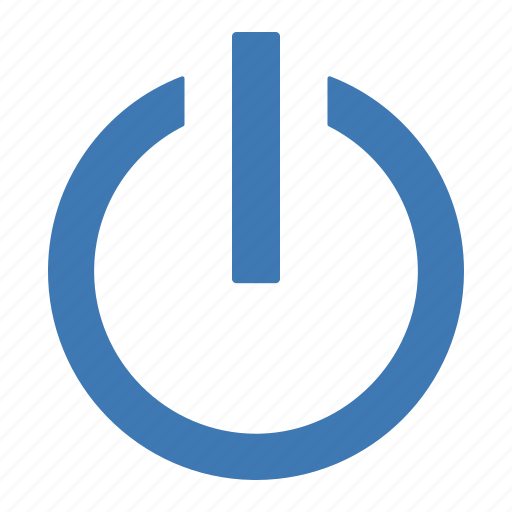hardware, network, off, on, power, switch, turn icon